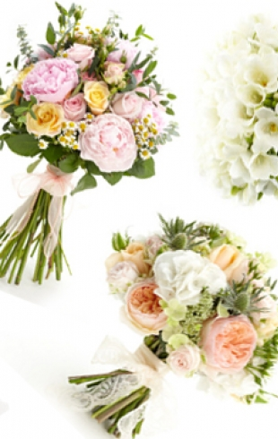 Стильные свадебные букеты: тренды 2014 года