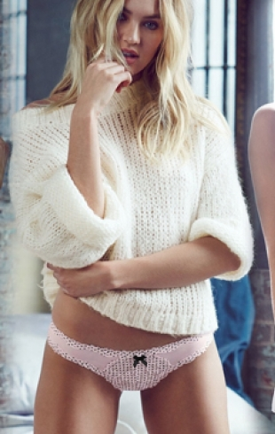 Кэндис Свэйнпол представила новинки Victoria's Secret