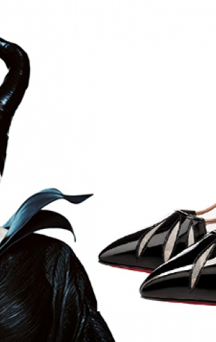 Туфли Christian Louboutin, вдохновленные «Малефисентой»
