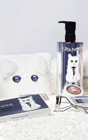Кошка Лагерфельда стала лицом косметики Shu Uemura