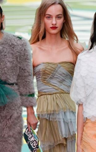 Неделя моды в Лондоне: коллекция Burberry Prorsum