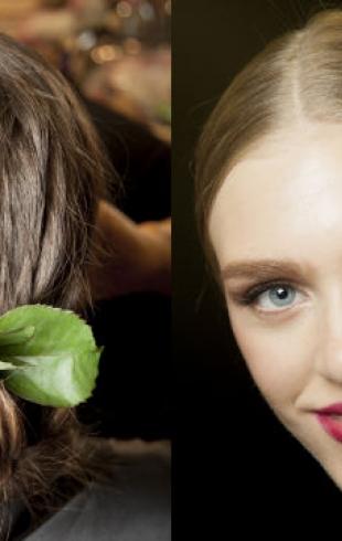 Красота с подиума: показ Dolce&Gabbana