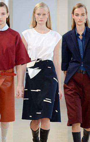 Неделя моды в Милане: Jil Sander, весна-лето 2015
