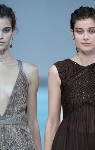 Неделя моды в Милане: Giorgio Armani, весна-лето 2015