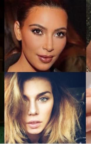 Вдохновение из Instagram: бьюти-предпочтения знаменитостей