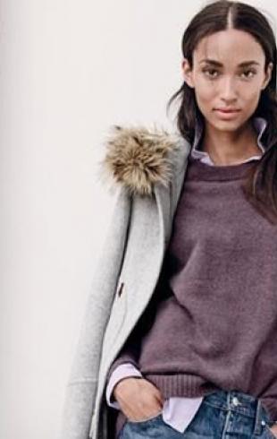 С чем носить свитер: новый лукбук J.Crew