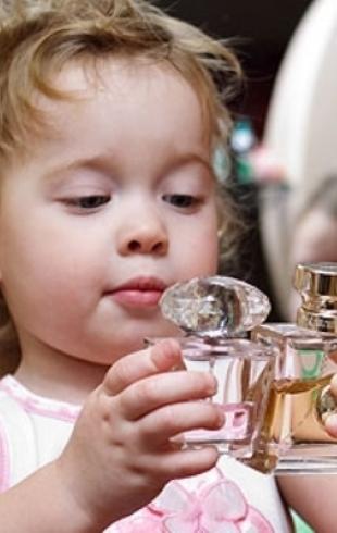 Что подарить ребенку на Новый год: детские духи