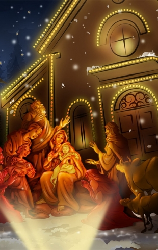 Поздравления с Рождеством в стихах 2015