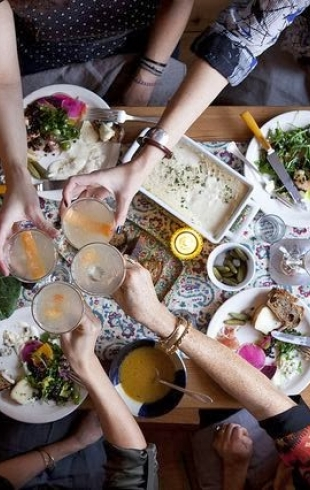 Как приготовить постный праздничный ужин