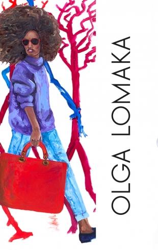 Куда сходить киевлянину: выставка работ британского художника Ольги Ломака