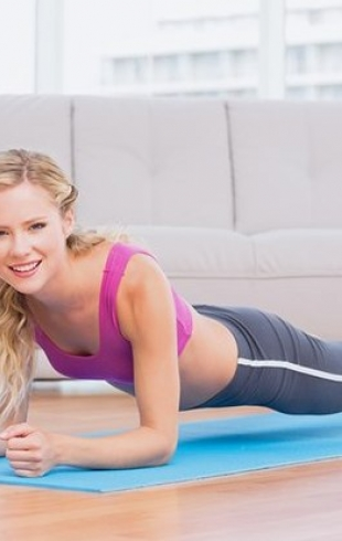 Планка: чудо-упражнение для похудения за 2 минуты в день