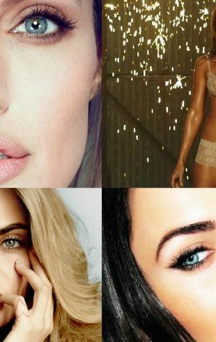 Как выглядит идеальная женщина: губы Анджелины Джоли, глаза Меган Фокс, брови Кары Делевинь и живот Дженнифер Энистон