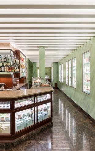 Кафе, как бутик: Prada открыли первую кондитерскую а Милане