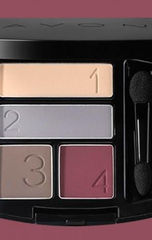 Палетка Avon True Color Eyeshadow Quad: отличное дополнение осени