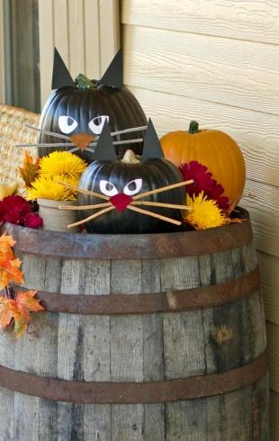 Декор на Хэллоуин: веселые идеи для праздника, которые легко повторить дома