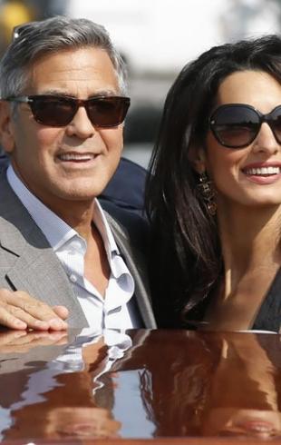 Джордж Клуни и Амаль Аламуддин признаны самой стильной парой