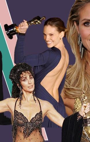 «Голые платья»: самые откровенные наряды звезд за всю историю «Оскара»