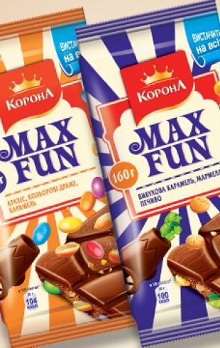 Max Fun – взрывная новинка от Корона
