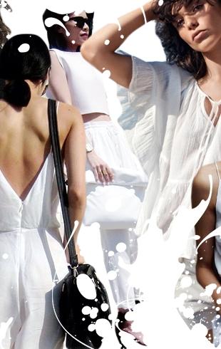Люди в белом: 70 street style образов в главном цвете лета