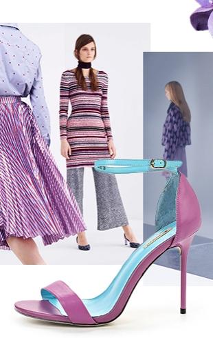 Сиреневый цвет в одежде: с чем сочетать и где купить вещи сиреневого цвета