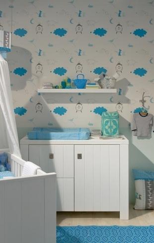 Идеи декора комнаты для младенца (ФОТО 50+)