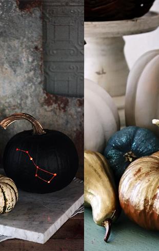 6 идей декора тыквы: фонарь Джека на Хэллоуин 2017