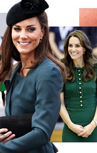 Кейт Миддлтон – 35: лучшие выходы герцогини, когда она была великолепна в самом модном цвете 2017 года