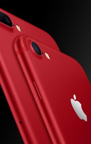 Special RED Edition: новый iPhone 7 красного цвета представлен Apple
