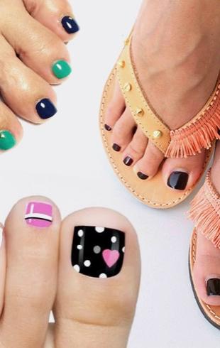 Летний педикюр 2017: модные тенденции (+ВИДЕО)
