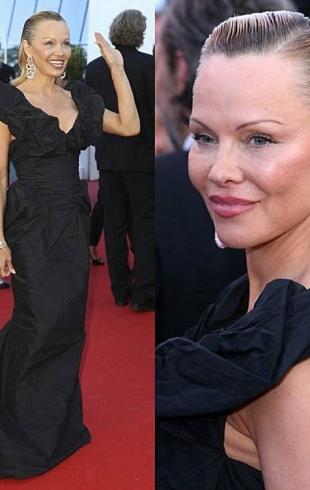 Памела Андерсон, неузнаваемая из-за пластики, появилась на красной дорожке Каннского кинофестиваля (ФОТО)