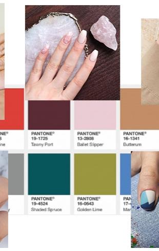 Делаем стильный осенний маникюр в оттенках Pantone: выбираем главные цвета этой осени (ФОТО 50+)