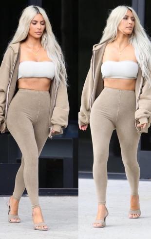 Раскрыт секрет стройности Ким Кардашьян: звезда реалити призналась, что еще никогда не была такой худой