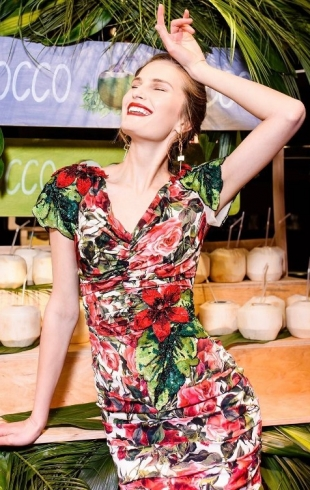 Алла Костромичева восхитила холеную публику на нью-йоркской неделе моды
