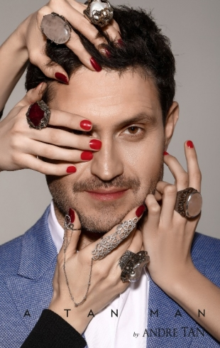 Ахтем Сейтаблаев стал лицом мужской коллекции одежды весна-лето`18  бренда A TAN MAN by Andre Tan