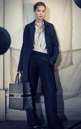 Модные тренды: Дженнифер Лоуренс в новой рекламной кампании Dior (ФОТО)