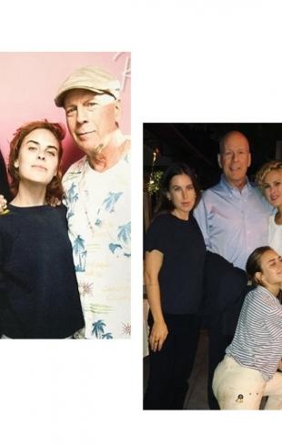 Брюс Уиллис и Деми Мур повеселились на вечеринке по случаю 30-летия старшей дочери (ФОТО)