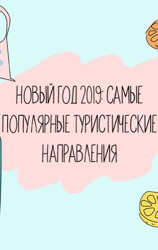 Новый год 2019: самые популярные туристические направления