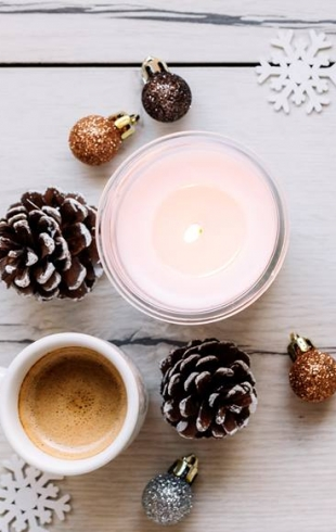 Ароматические свечи: отличная идея для подарка на Новый год