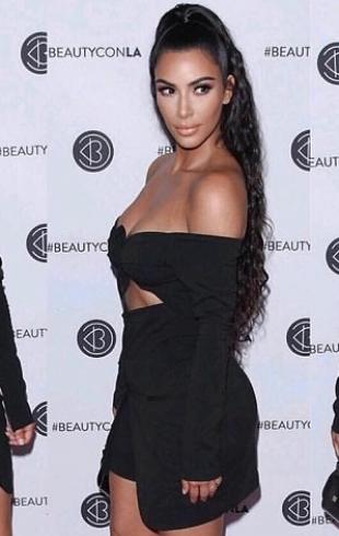 Ким Кардашьян вызвала негодование рекламой пищевых коктейлей (ФОТО)