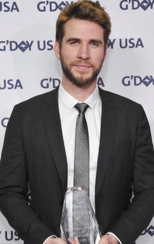 Лиам Хемсворт на премии G´Day USA рассказал о семейной жизни с Майли Сайрус (ФОТО)