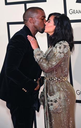 Ким Кардашьян и Канье Уэст отпраздновали годовщину свадьбы: новые снимки со свадьбы (ФОТО)