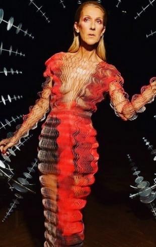 Селин Дион в футуристическом образе от Iris Van Herpen стала звездой Сети (ГОЛОСОВАНИЕ)