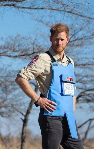 По стопам принцессы Дианы: принц Гарри присоединился к расчистке минных полей в Анголе