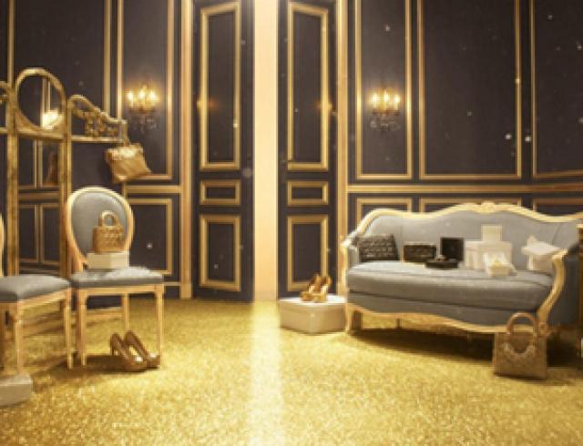 Золотое Рождество от Dior: зимняя коллекция