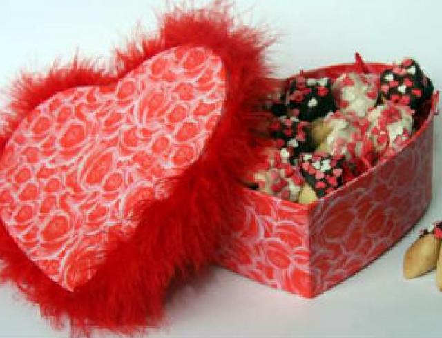 Печенье с любовной запиской