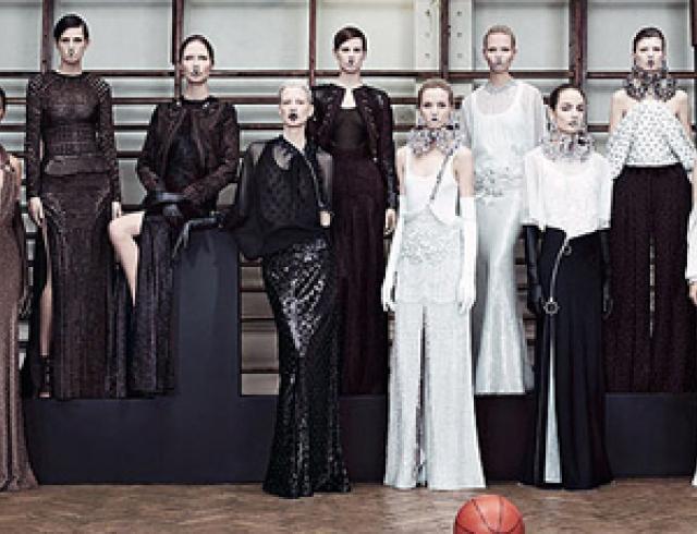 Givenchy представил коллекцию для кибер-принцесс