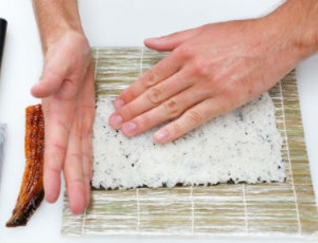 Мастер-класс: делаем суши