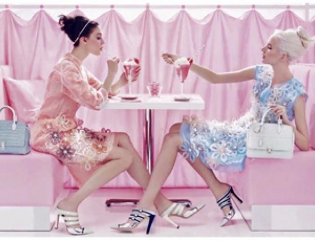 Зефирная коллекция SS 2012 от Louis Vuitton