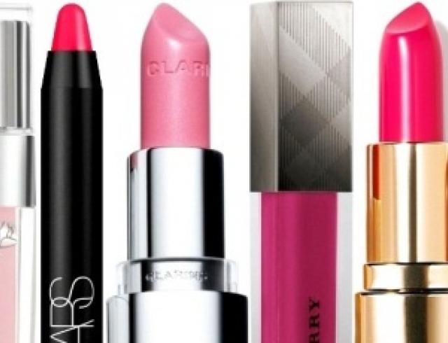 Весенний тренд: розовые губки