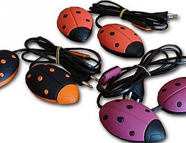 Высушить туфли поможет «солнышко»
